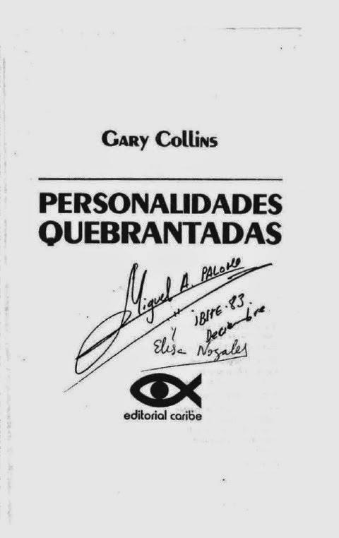 Gary Collins-Personalidades Quebrantadas-