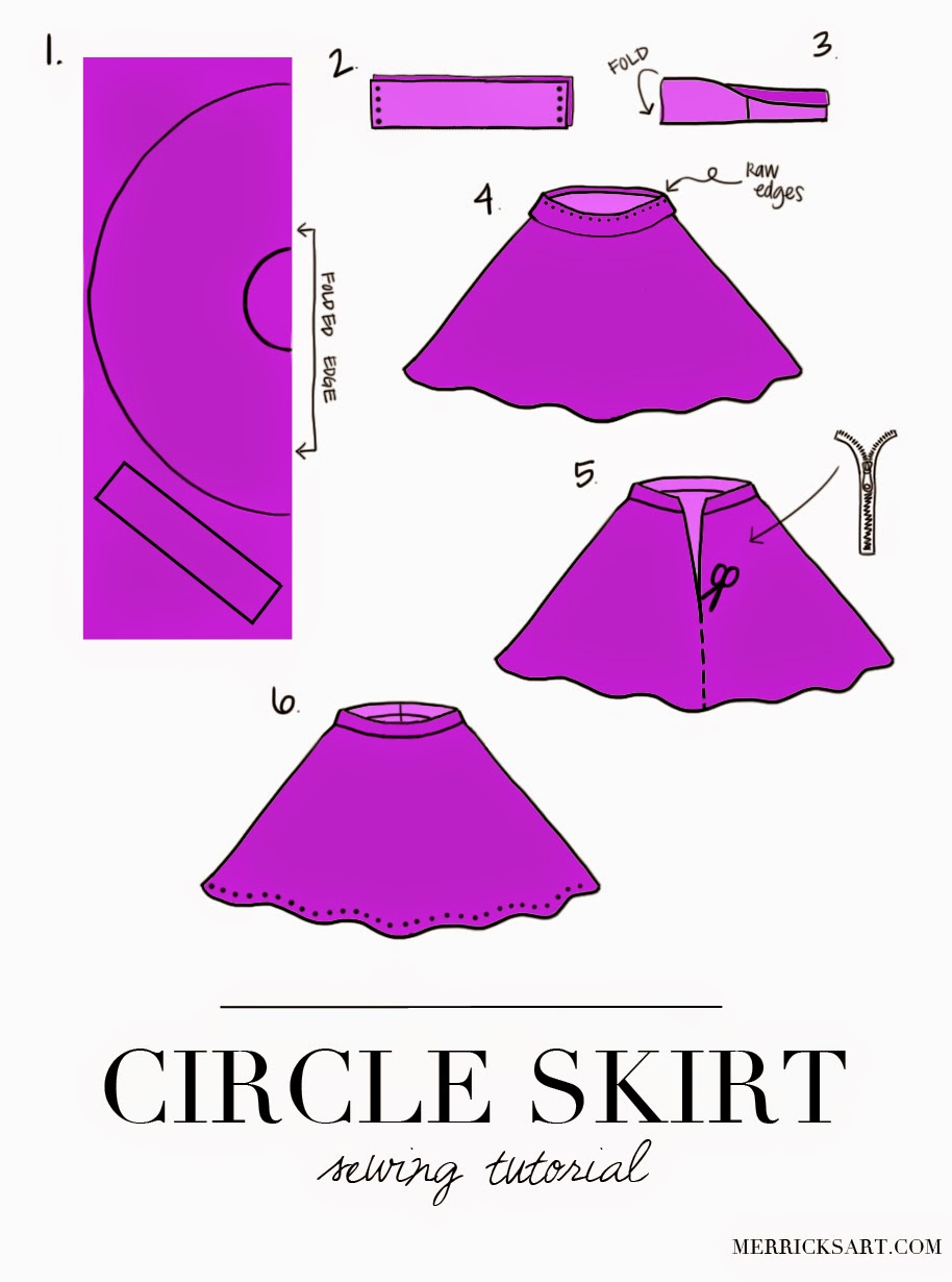 Make A Circle Skirt 53
