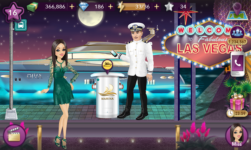hollywood story mod apk unlimited everything