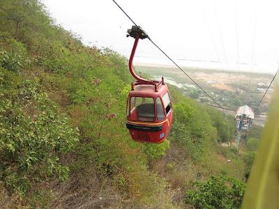 Roap way to kailasagiri hill