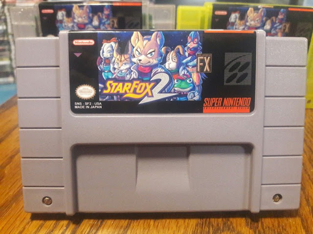 Star Fox 2 Pirated Cartridges made their appearance on eBay 1