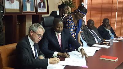 Nigeria Government , UK sign MoU on Return of Stolen Assets