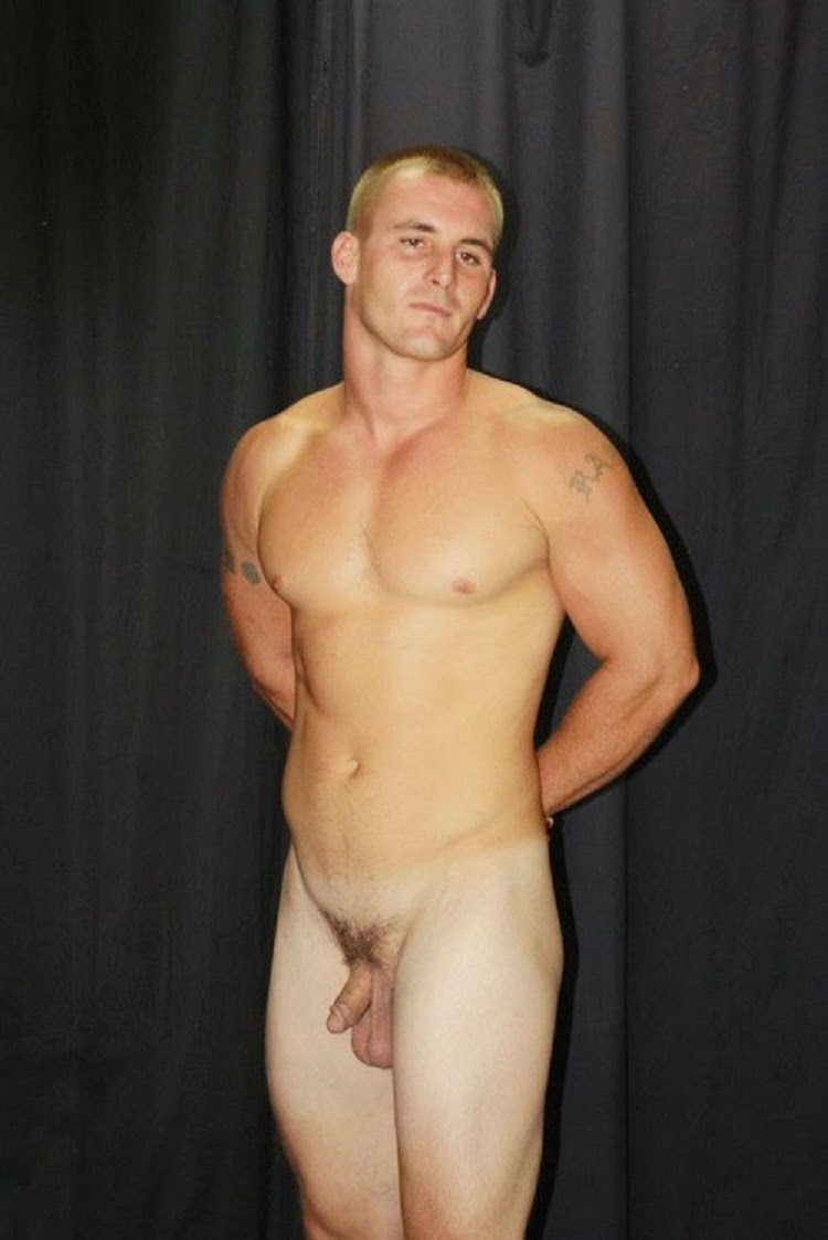 Sportsman Bulge Naked  Male Nude Cock Show-9034