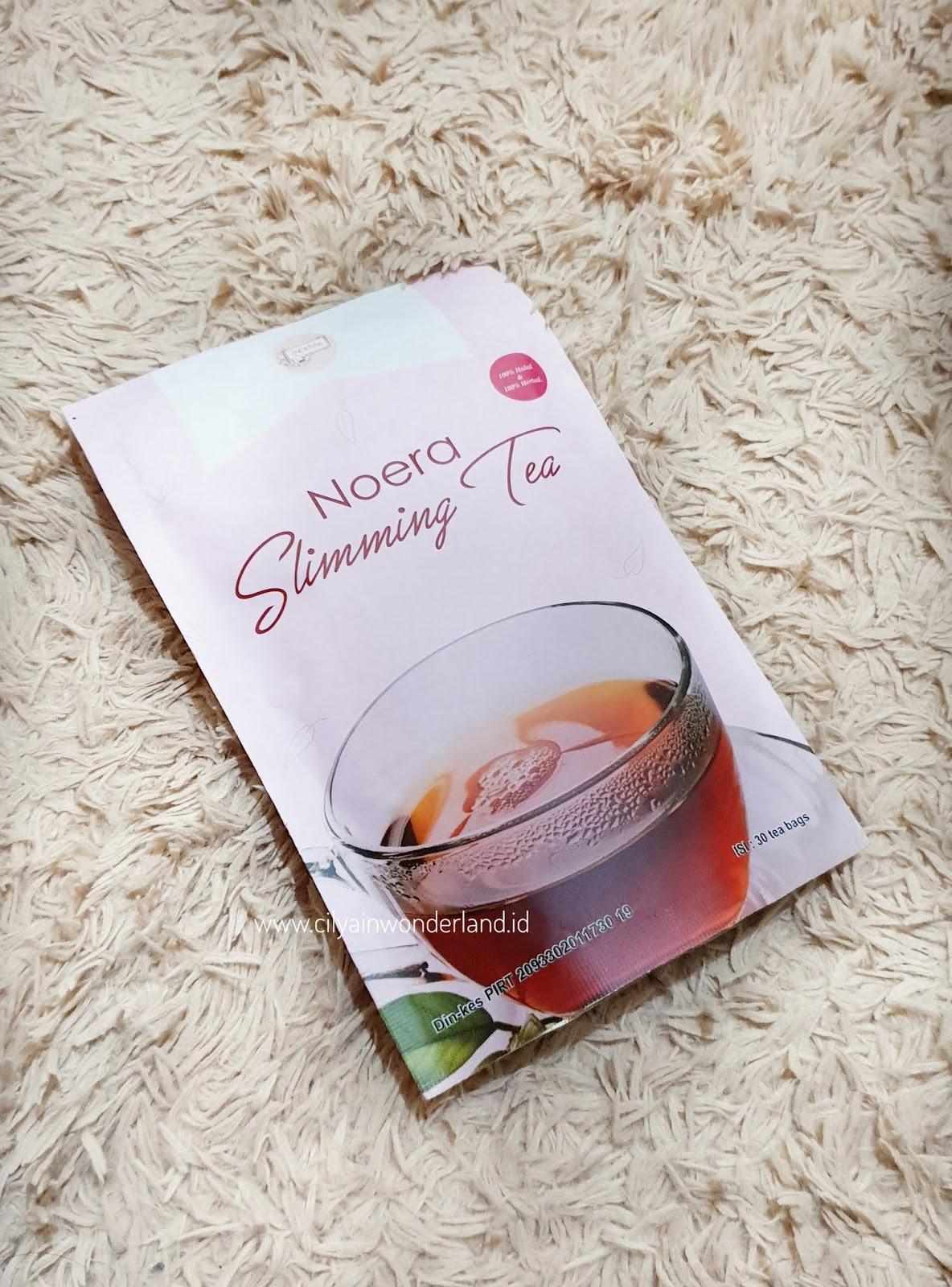 cara minum slimming ceai yang benar