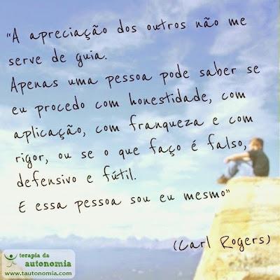 A apreciação dos outros - Carl Rogers