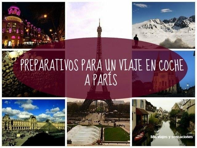 Viajar en coche a París