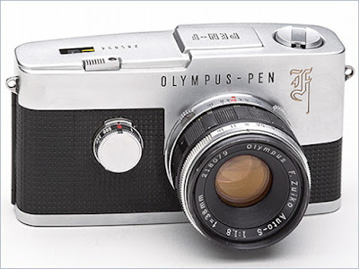 Olympus Pen F (1963), Olympus Pen Half-Frame Cameras