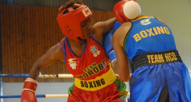 Female boxers bring PNG Games alive