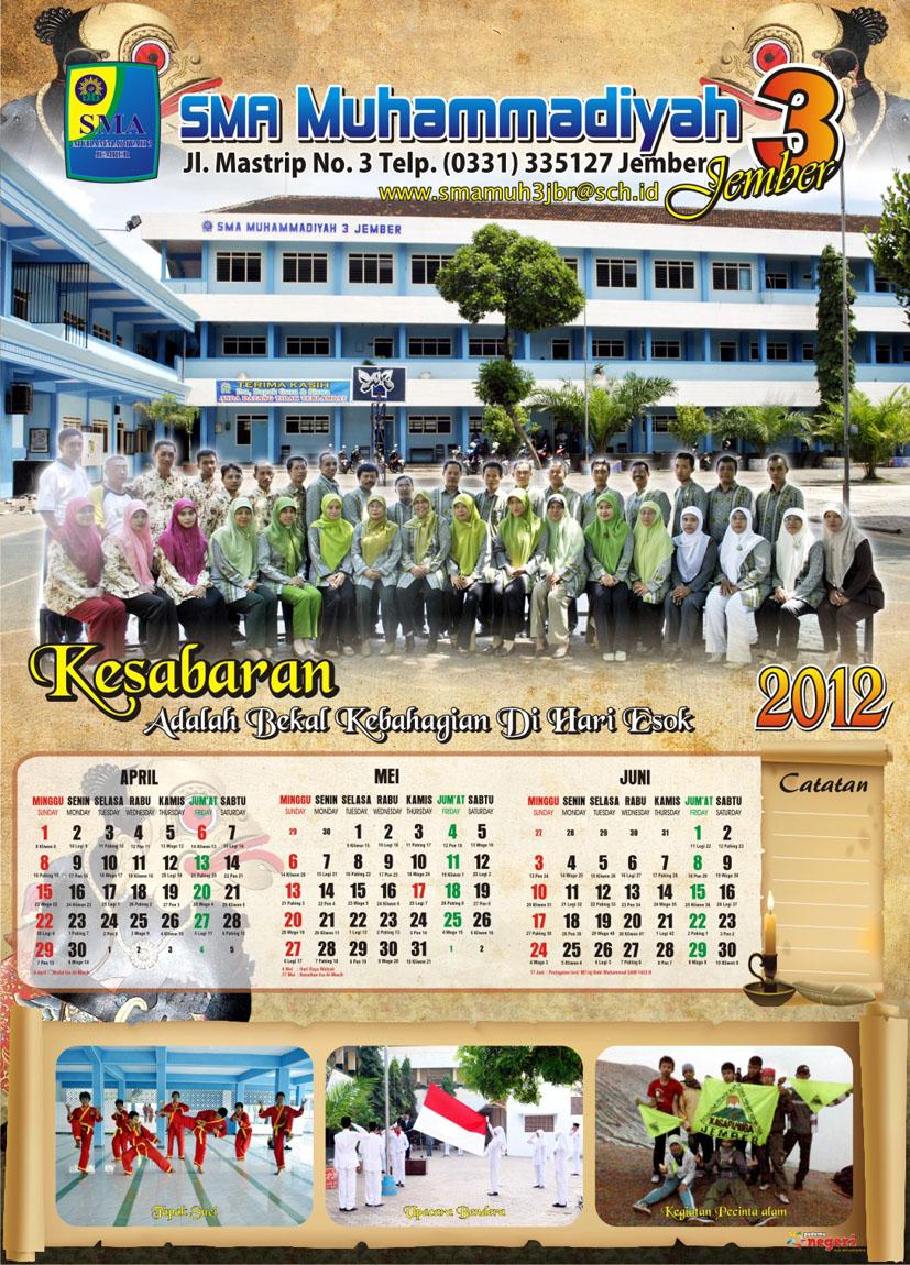 64+ Tren Gaya Desain Kalender Yang Bagus, Desain Kalender