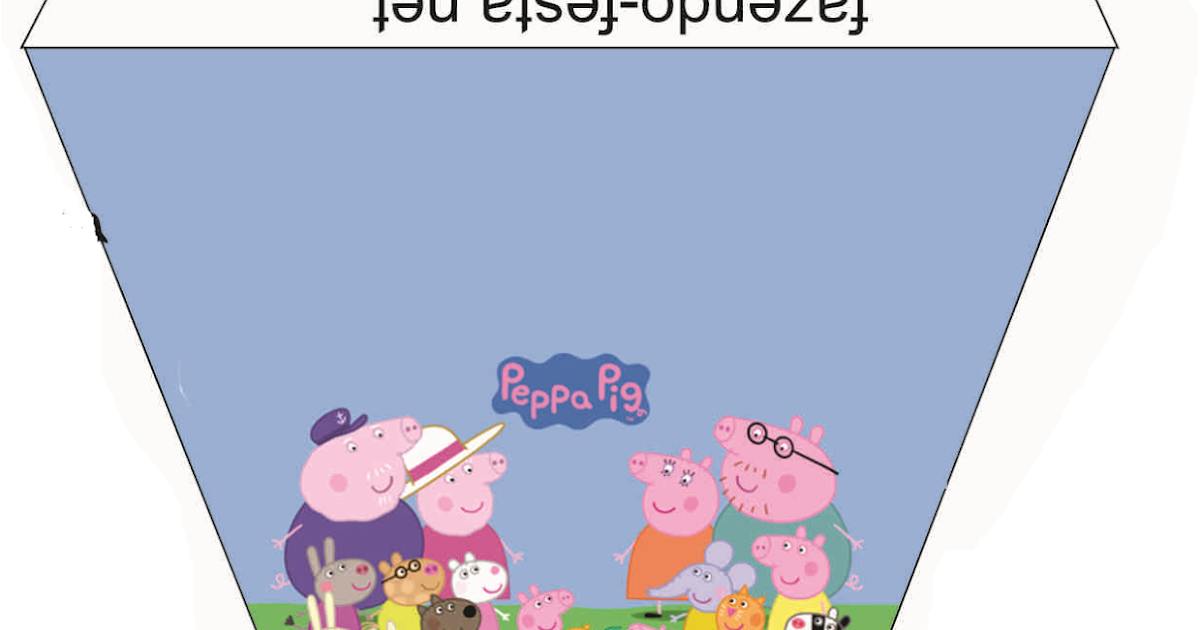 Mini Kit De Peppa Pig Para Imprimir Gratis Ideas Y Material