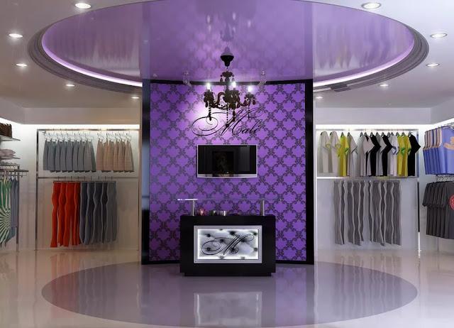 thiết kế shop thời trang nữ đẹp - mẫu số 5