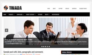 Triada_Blogger_Template