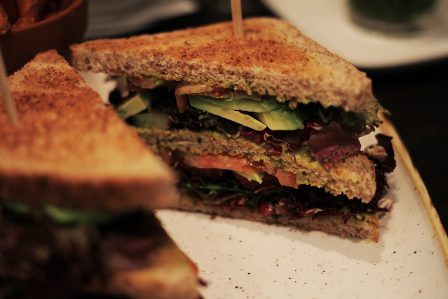 vegan clubsandwich aspria