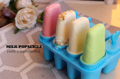 Milk popsicle paal ice 2 ingredient popsicle recipe summer cool drinks milk recipes simple kids desserts kerala paal ice sarbath