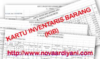 Aplikasi dan Format Pengisian Kartu Inventaris Barang (KIB)