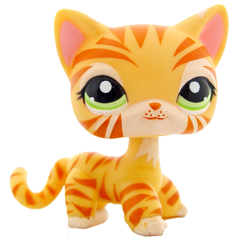 Lps Cat Costume Hasbro Year 2004 Littlest Pet Shop Pet Pairs