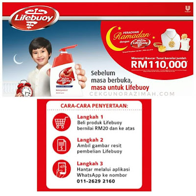 peraduan ramadhan lifebuoy, lifebuoy malaysia, peraduan lifebuoy, unilever malaysia