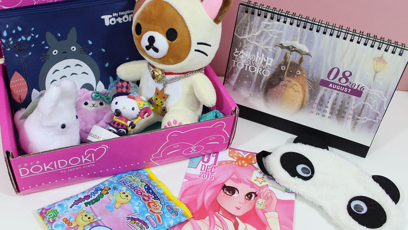 Takes A Look At The Doki Doki Subscription Box From Japancrate