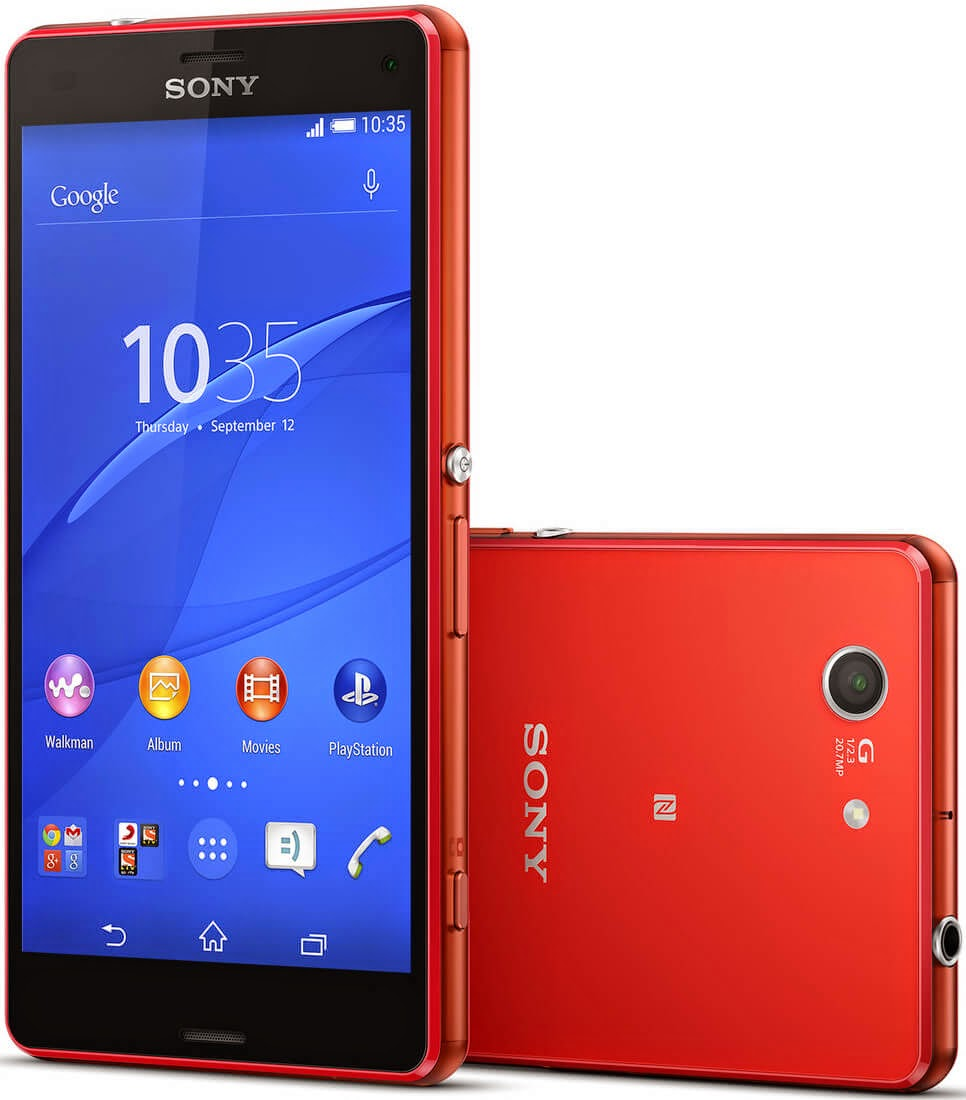 Sony Xperia Z3 Compact - Highest Specs Android Smartphones in 2015
