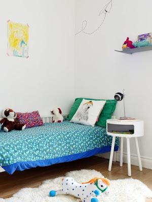 dekorasi kamar tidur anak wanita konsep bohemian
