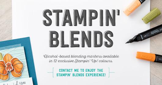 Stampin' Alcohol markers are coming!