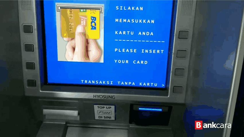 Cara Tarik Tunai Tanpa Kartu di ATM BCA