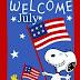 Στο Snoopy  αρέσει ο Ιούλιος...