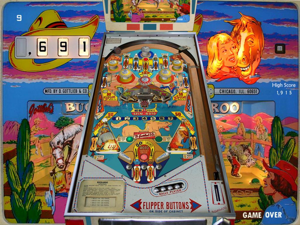 Computer Pinball: Visual Pinball Screen Shots: Classic 1