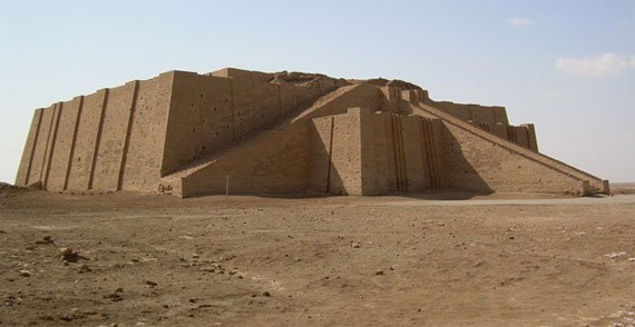mesopotamian ziggurat a great building ancient history