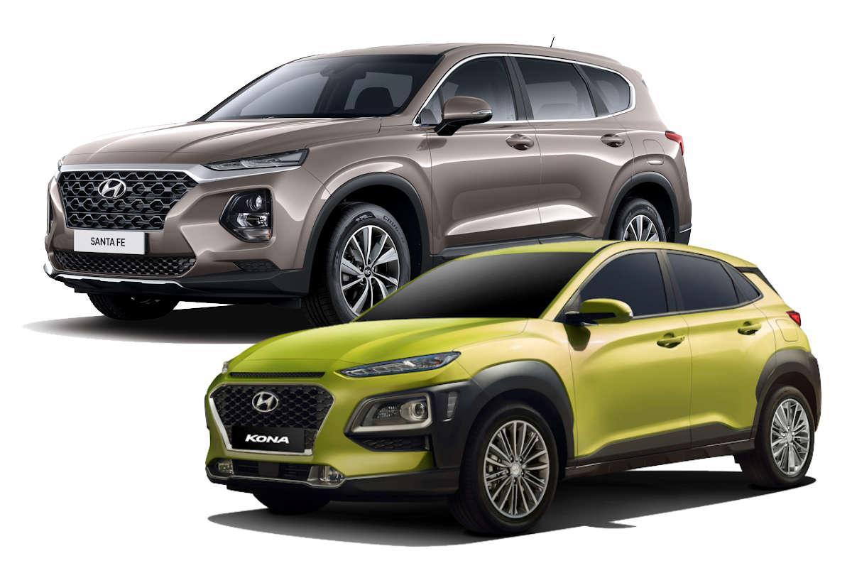 2019 Hyundai Santa Fe Kona Recognized Anew For Design