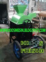 mesin pemipil jagung dan perontok jagung dari tonggkolnya