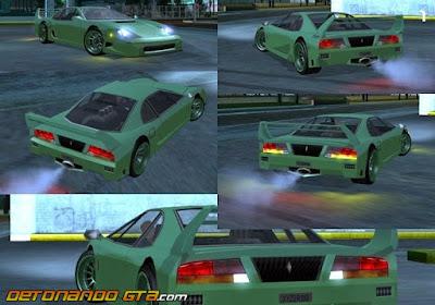 GTA SA - Carros Originais Adaptados para ImVehFt