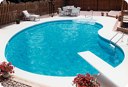 House Ponds And Swimming Pools For