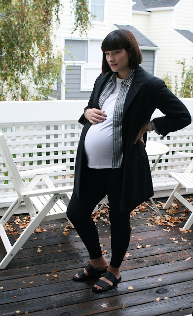 Pregnancy style, Fall, Layering, Fashion blogger, OOTD, Maternity brands, bump style