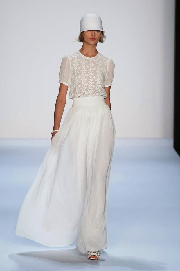 Badgley Mischka Spring-Summer 2014 New York Fashion Week : Cool Chic Style Fashion
