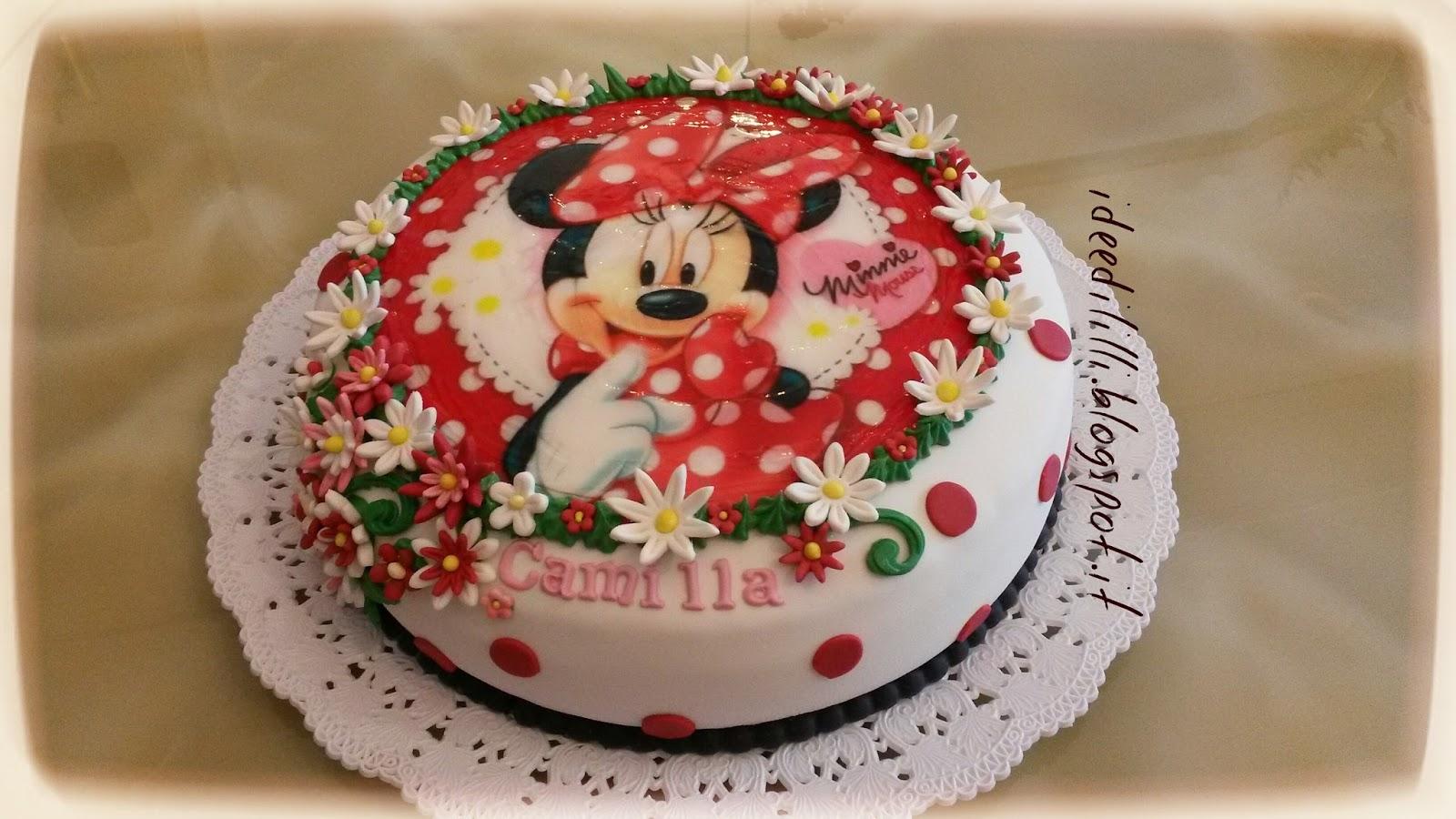 Cucina Dintorni Torta Minnie