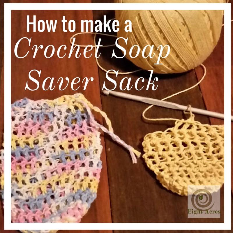 A Soap Saver Sack Eight Acres