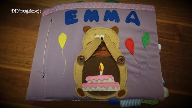 książeczka sensoryczna Emma