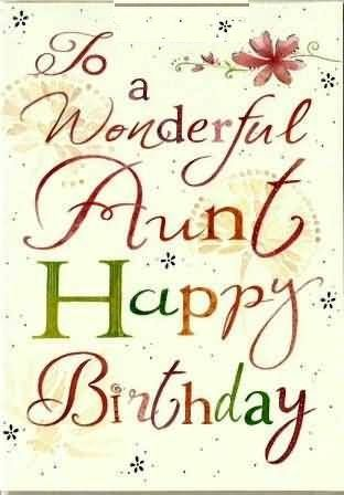 Happy Birthday Tia Gif : happy, birthday, Happy, Birthday, Aunty, Wishes, Images