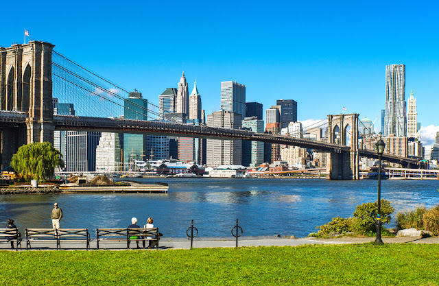 Brooklyn Bridge Park, planes gratis en Nueva York