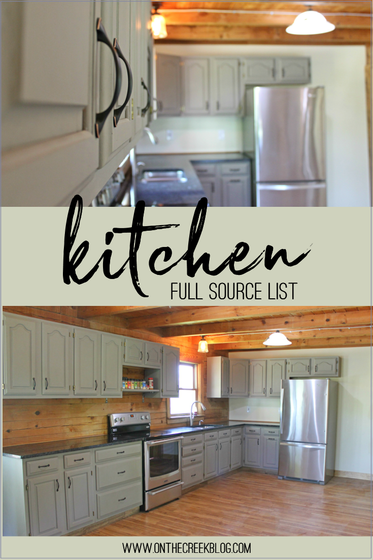 Full source list on where we bought everything for our kitchen!