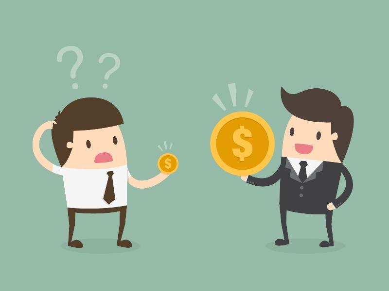 Salario bruto y neto: diferencias.
