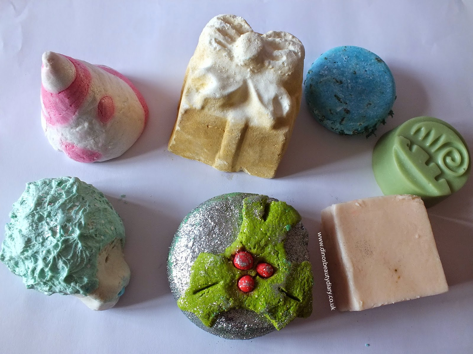 Dino's Beauty Diary - Lush Pre-Christmas Haul - Lush Bath bombs, bubble bars, haircare
