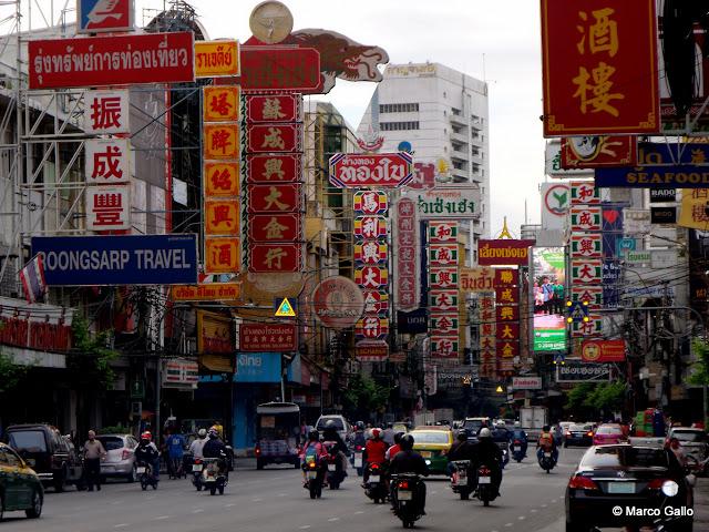 CHINATOWN, UN MUNDO APARTE DENTRO DE BANGKOK. Tailandia.