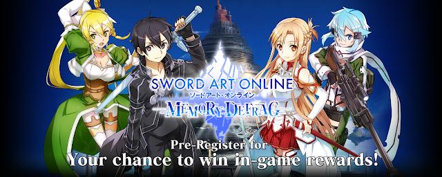 Pre-Registrasi Sword Art Online: Memory Defrag Siap Rilis Versi Global