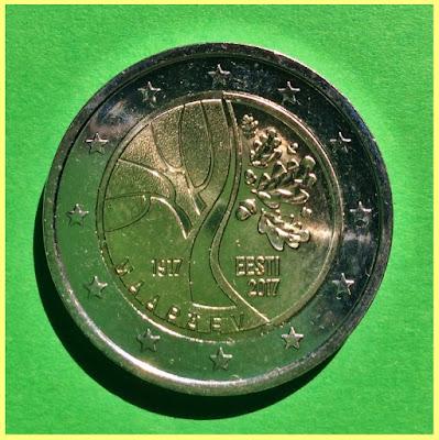 2017 2 Euros Estonia
