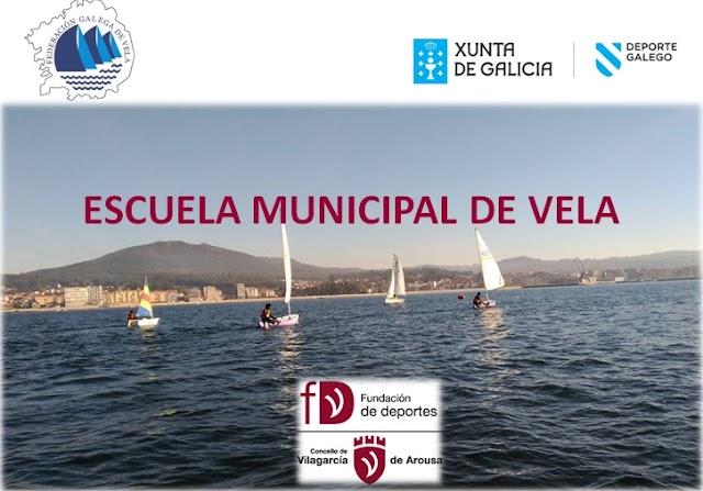 COMIENZO DE LA ESCUELA MUNICIPAL DE VELA DE VILAGARCÍA