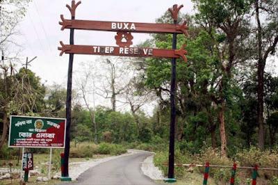Buxa Tiger Reserve, Dooars