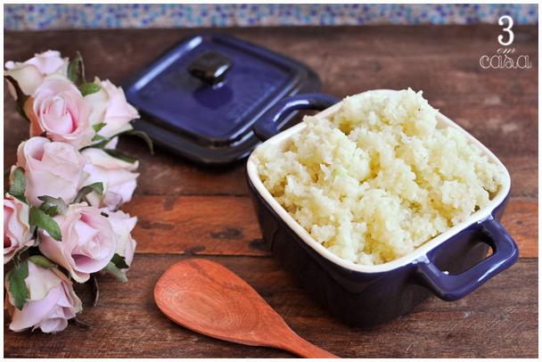 receita arroz couve flor