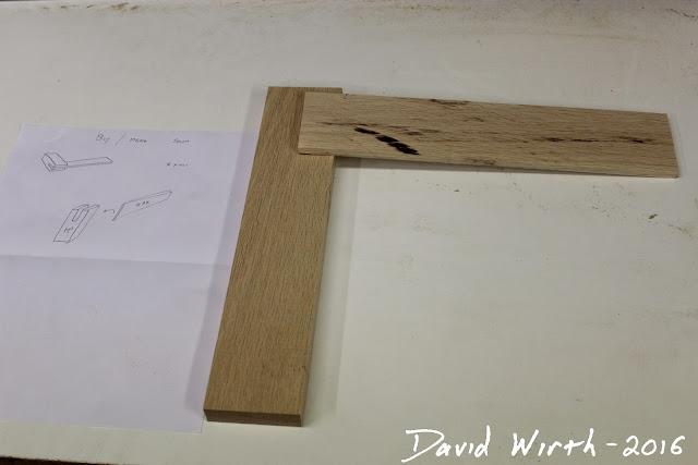 wood square, make tools